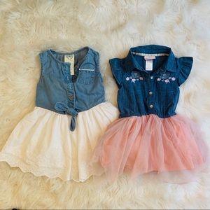 Other - 2T trendy dress bundle